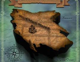 #10 dla Design a fantasy map for my novel przez Spector01