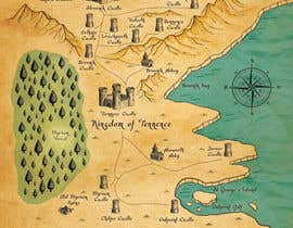 #13 para Design a fantasy map for my novel por sirus3002