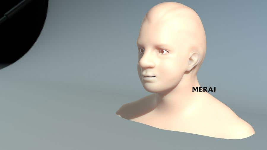 Inscrição nº                                         1                                      do Concurso para                                         i need a basic 3d head model of dead relative.