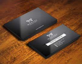 #40 for Design a leading edge business card for an architectural company by IllusionG