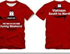 #18 para Thiết kế T-Shirt for Funny Weekend de vishingangel