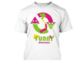 #15 , Thiết kế T-Shirt for Funny Weekend 来自 jojohf