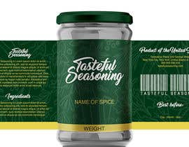 #85 for Come up with brand name + jar label + logo for a condiment/spices selling company by enddesigns032