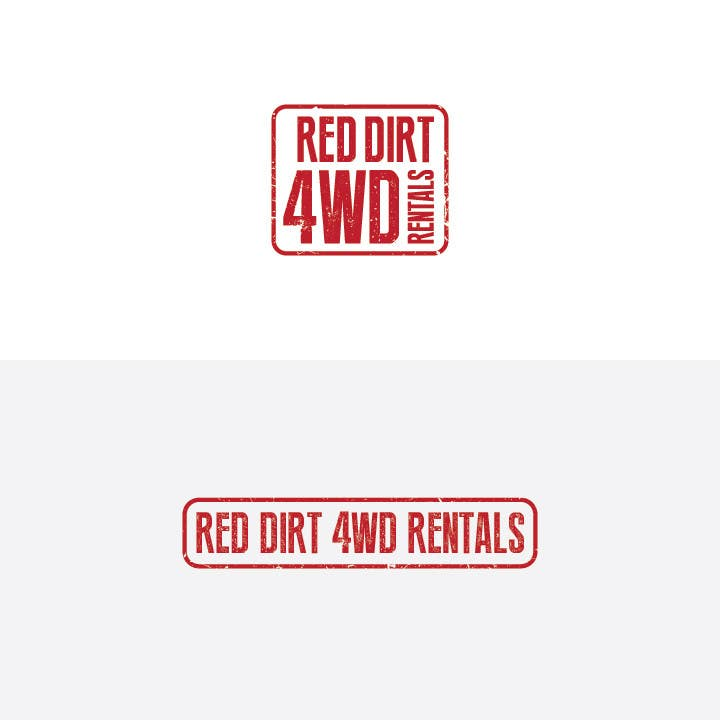 Contest Entry #33 for Design a Logo for Red Dirt 4WD Rentals