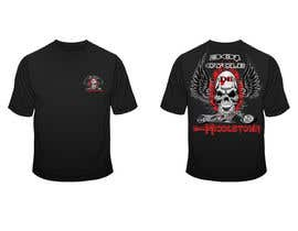 #14 para Create a Kicka*s Radical Motorcycle T-Shirt Design de dilukachinda