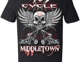 #17 untuk Create a Kicka*s Radical Motorcycle T-Shirt Design oleh dilukachinda