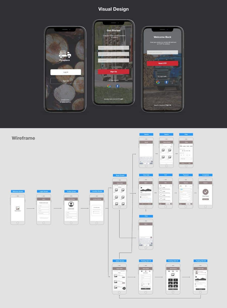 Contest Entry #                                        21                                      for                                         Design a Mobile App Screen Layout Plan