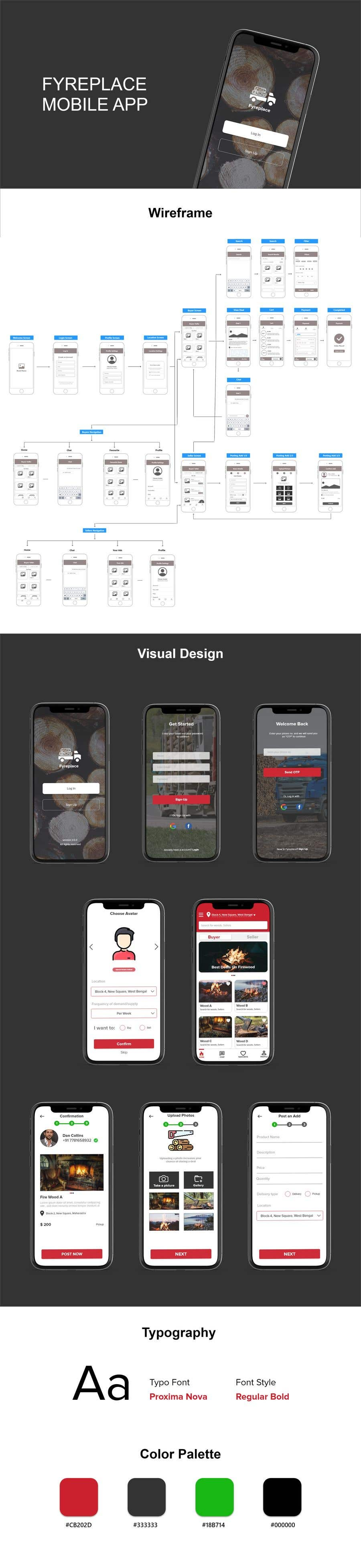 Contest Entry #                                        43                                      for                                         Design a Mobile App Screen Layout Plan