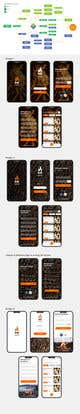 Graphic Design Contest Entry #45 for Design a Mobile App Screen Layout Plan