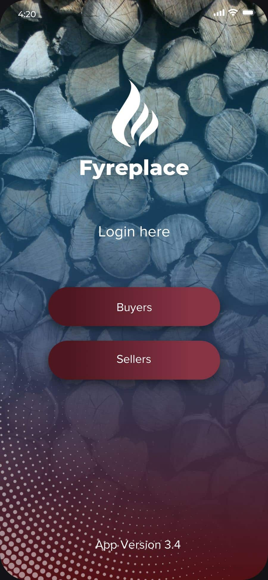 Contest Entry #                                        3                                      for                                         Design a Mobile App Screen Layout Plan
