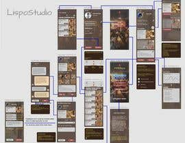#34 for Design a Mobile App Screen Layout Plan by valonis