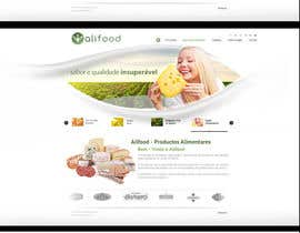 #5 for Website Design for www.alifood.pt by olivermxjp