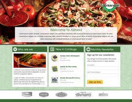 #4 untuk Website Design for www.alifood.pt oleh rainbowfeats