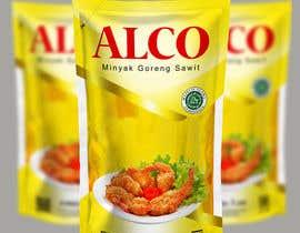 #80 untuk Desain packaging minyak goreng sawit merk ALCO oleh andreasaddyp
