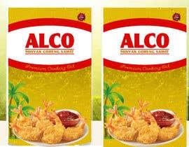 #79 untuk Desain packaging minyak goreng sawit merk ALCO oleh bahdhoe