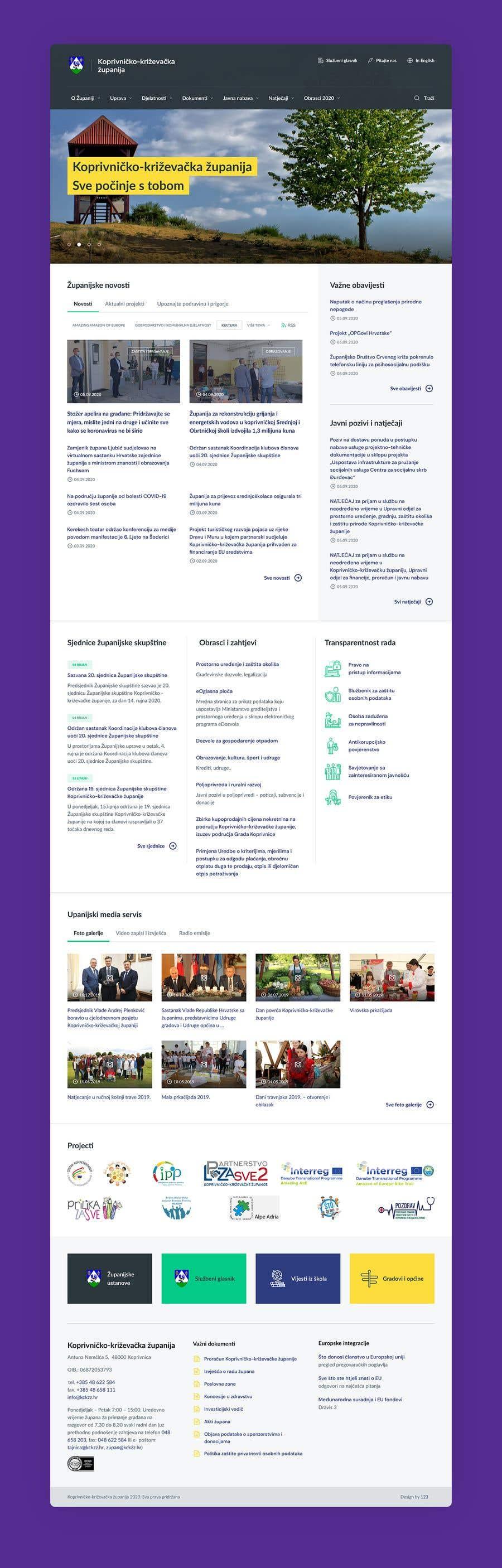 Penyertaan Peraduan #                                        27                                      untuk                                         Home page redesign project