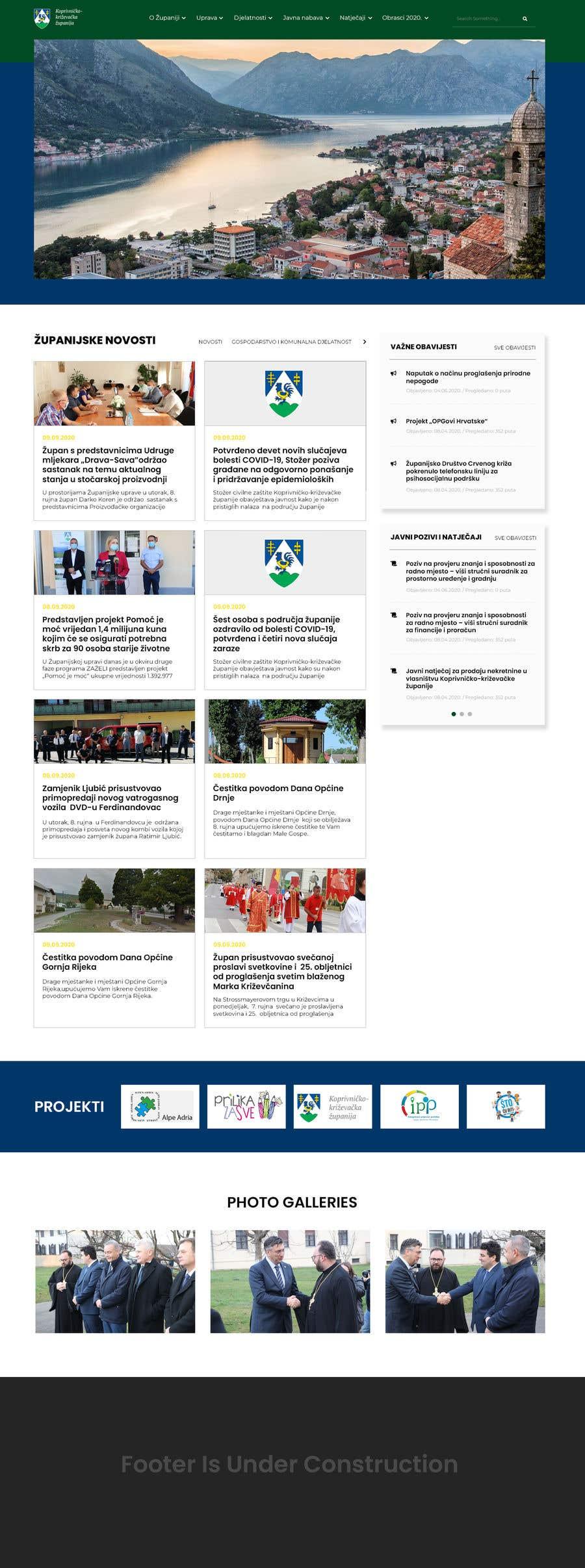 Penyertaan Peraduan #                                        54                                      untuk                                         Home page redesign project