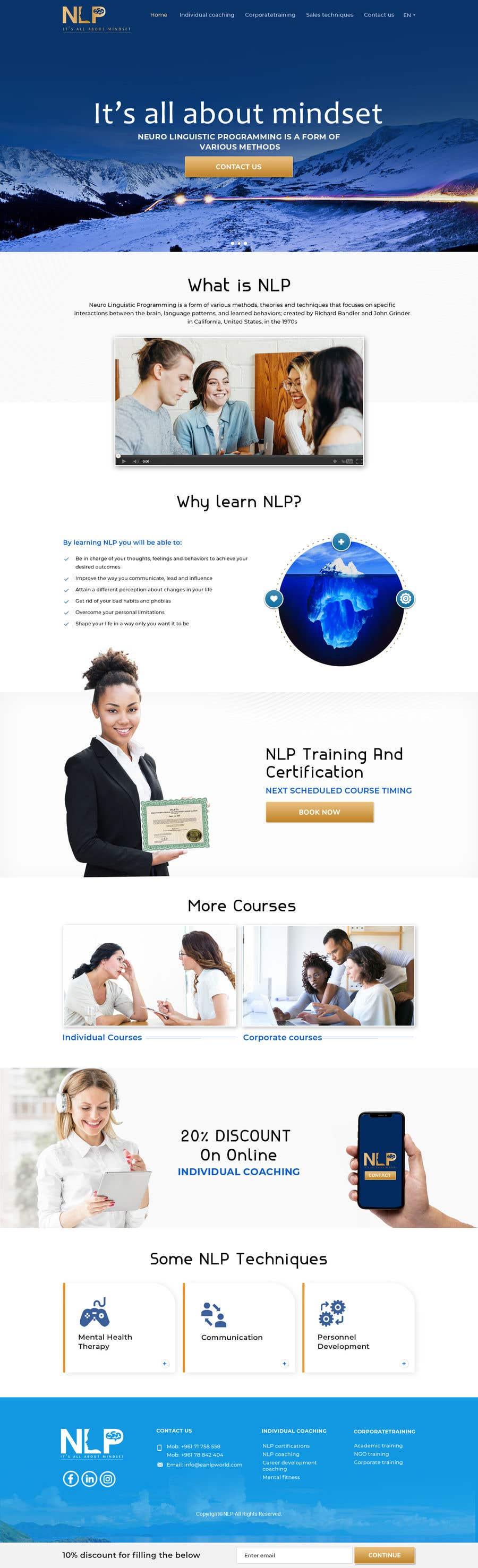 Penyertaan Peraduan #                                        46                                      untuk                                         design and build life coaching website