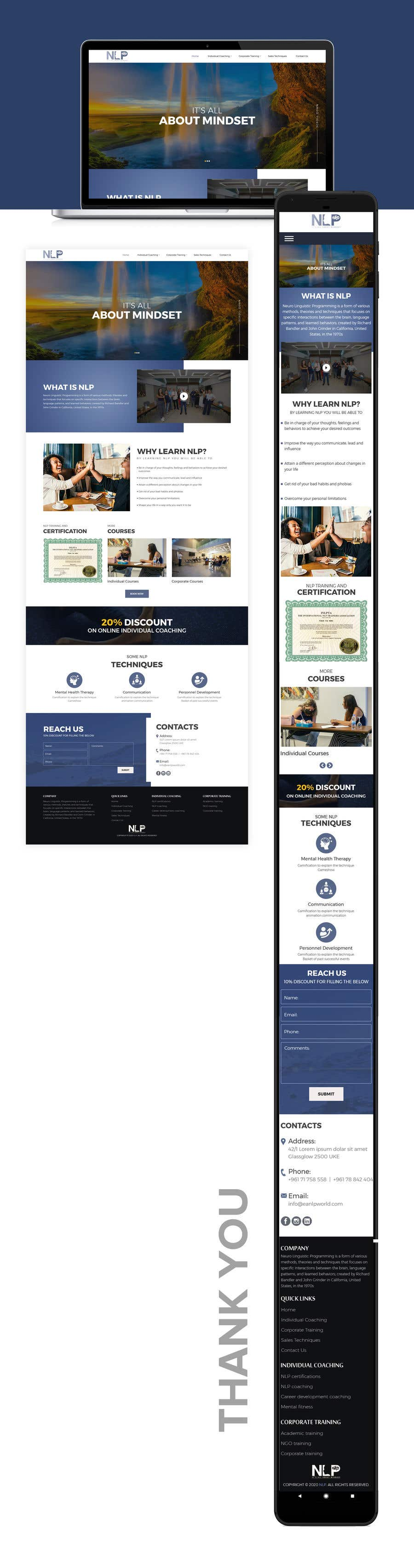 Penyertaan Peraduan #                                        49                                      untuk                                         design and build life coaching website
