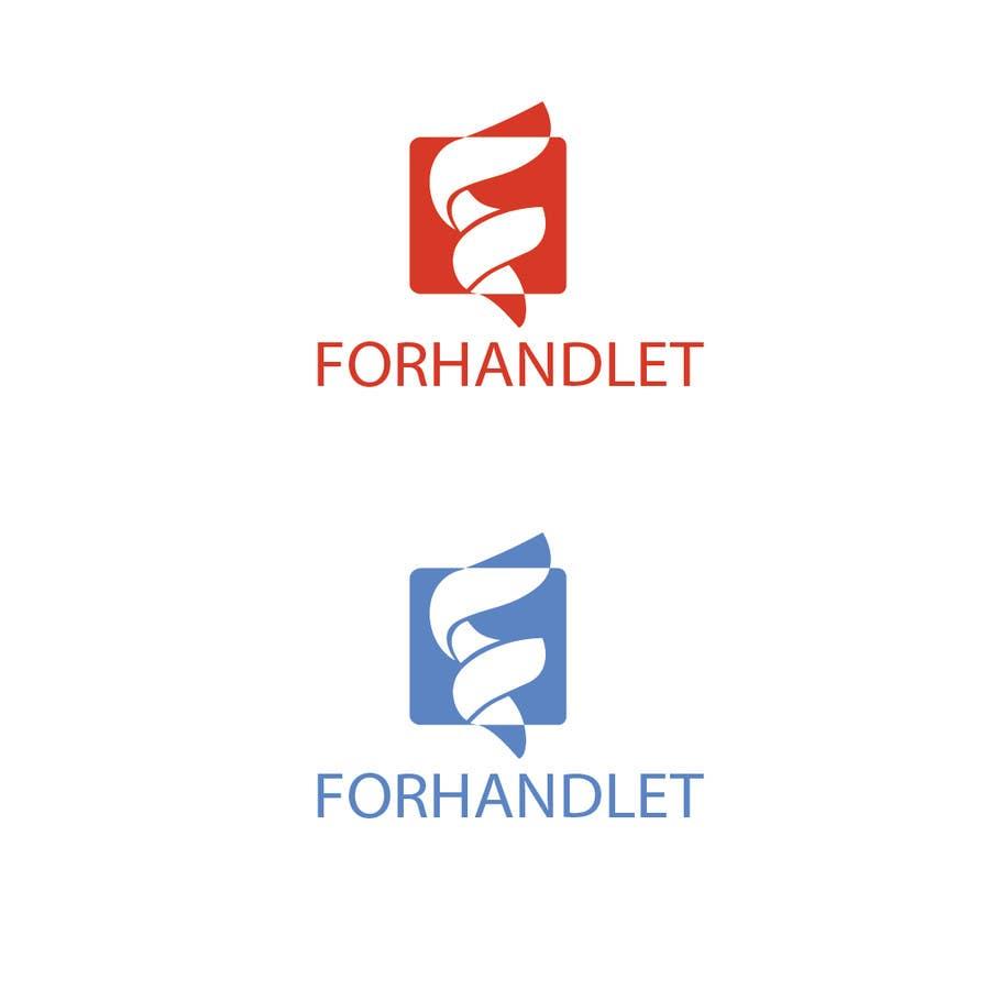 Inscrição nº                                         12                                      do Concurso para                                         Design logo for Forhandlet