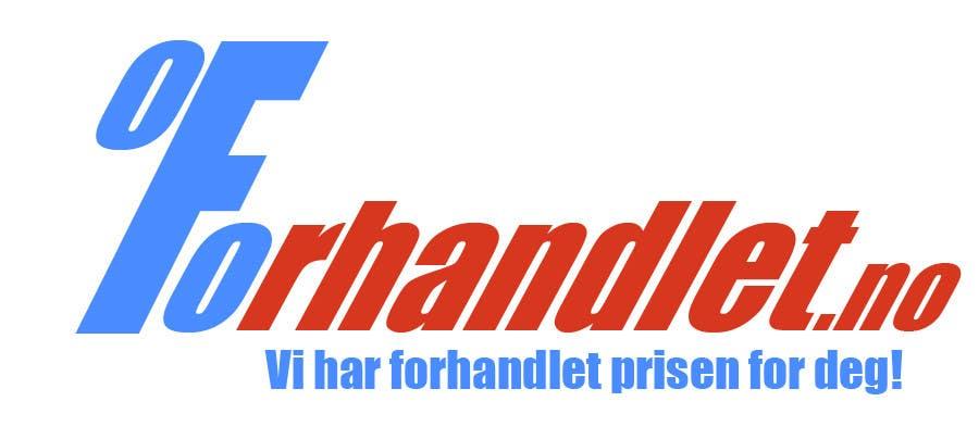 Inscrição nº                                         103                                      do Concurso para                                         Design logo for Forhandlet