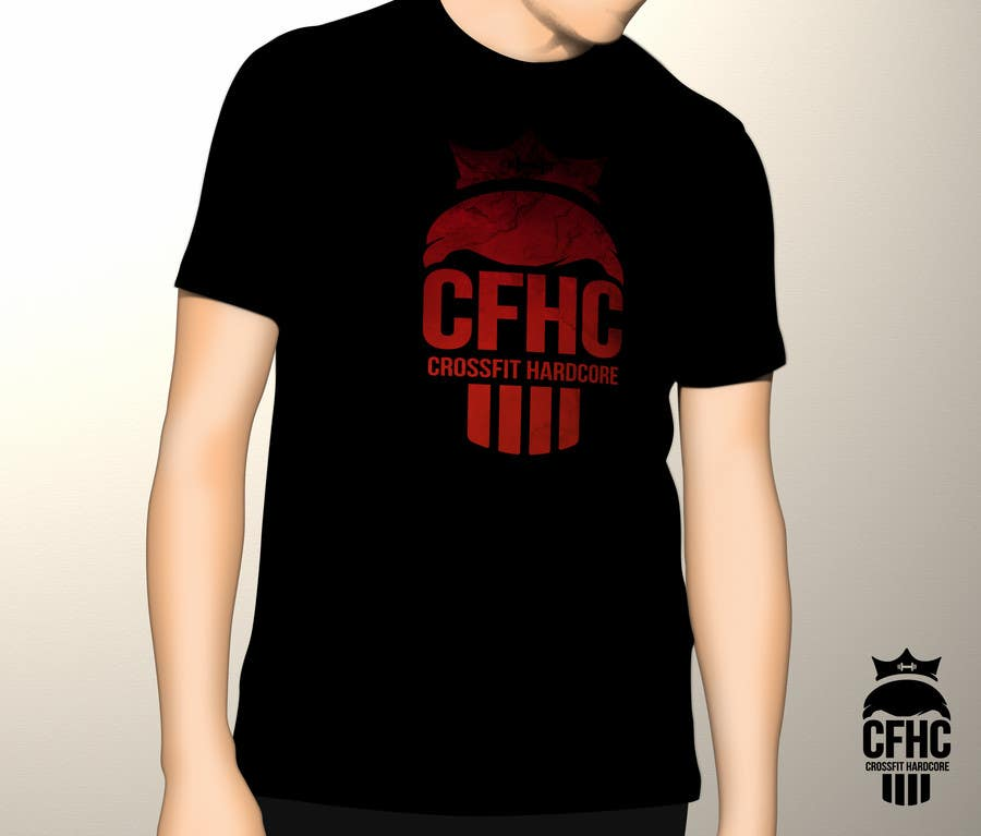 Entry #14 by foli for Simple T-shirt Design for gym. We will buy ...