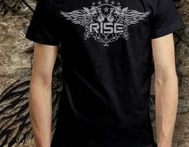 #58 untuk T-shirt Design for RiSE (Ride in Style, Everyday) oleh bulbulalam