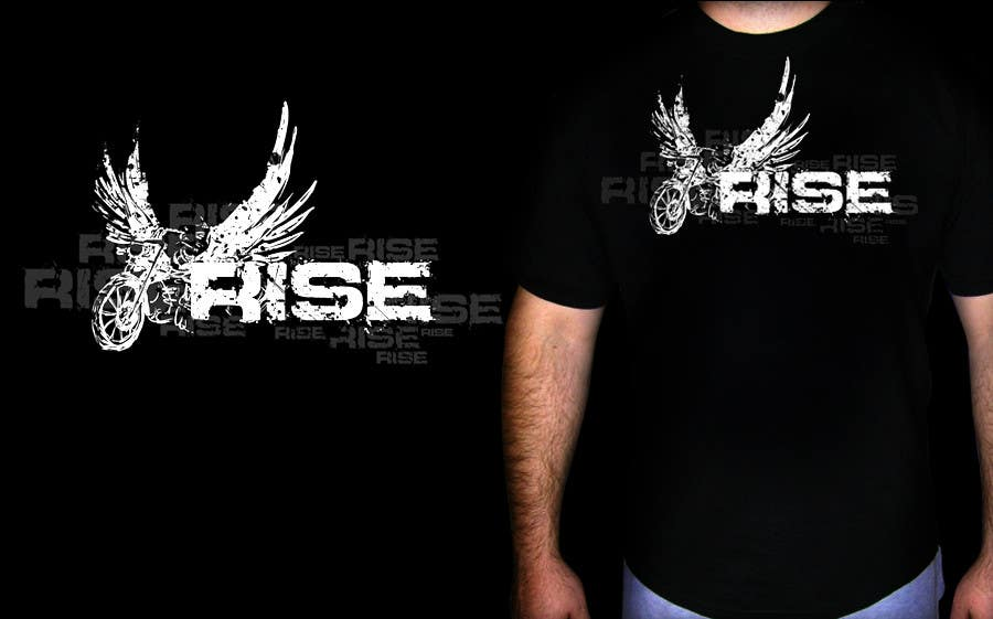 Entri Kontes #21 untukT-shirt Design for RiSE (Ride in Style, Everyday)