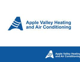 #100 untuk Logo Design for Apple Valley Heating & Air Conditioning oleh smarttaste