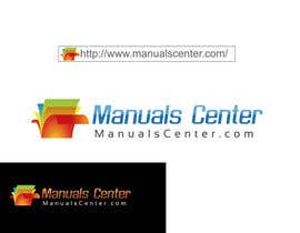 #195 para Logo Design for ManualsCenter (e-commerce site) por ArtBrain