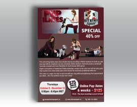 """#190 for Flyers for my dog training class """"Pup-ilates"""" by khaledalmanse"""