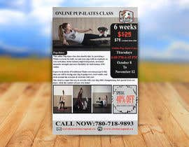 """#195 for Flyers for my dog training class """"Pup-ilates"""" by mdrokibhossan"""