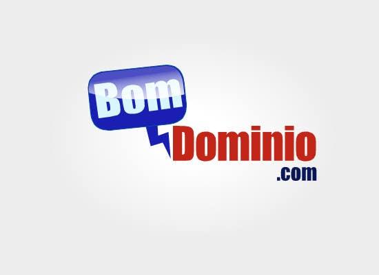 Bài tham dự cuộc thi #2 cho Logo Design for BomDominio.Com web  site.