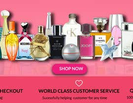 #129 for BANNERS NEEDED FOR PERFUME WEBSITE by rinadiu2013
