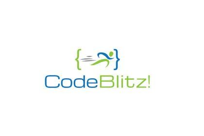 #134 para Logo Design for 'CodeBlitz' software development innovation sprint por iffikhan