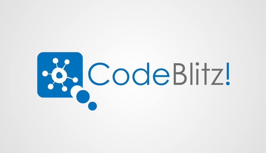 Penyertaan Peraduan #58 untuk Logo Design for 'CodeBlitz' software development innovation sprint