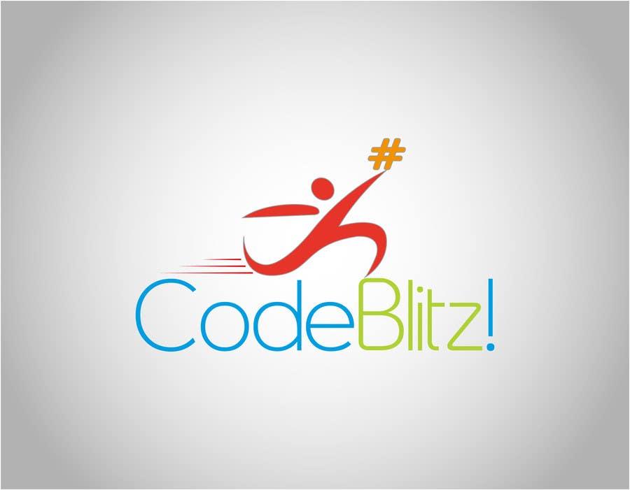 Penyertaan Peraduan #151 untuk Logo Design for 'CodeBlitz' software development innovation sprint