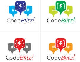 #147 untuk Logo Design for 'CodeBlitz' software development innovation sprint oleh willeckman
