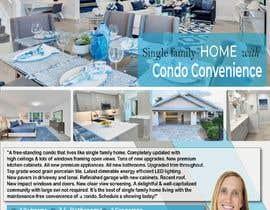 riadnasir2014 tarafından Design a 1 Page Real Estate Flyer için no 137