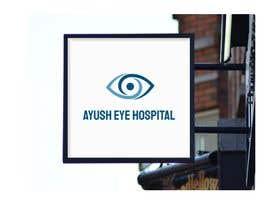 Nro 111 kilpailuun Designing logo and prescription slip for eye clinic käyttäjältä Hshakil320