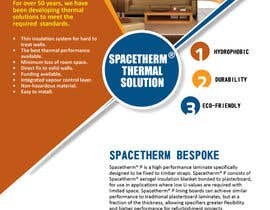 #27 para Advertisement Design for Spacetherm Bespoke por Olywebart