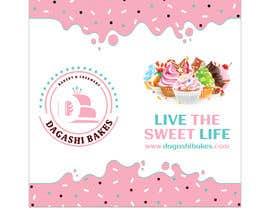 #112 para graphic design for a luxury bakery  27ft wall por Darda222
