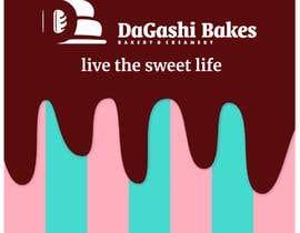 #7 para graphic design for a luxury bakery  27ft wall por Soulska
