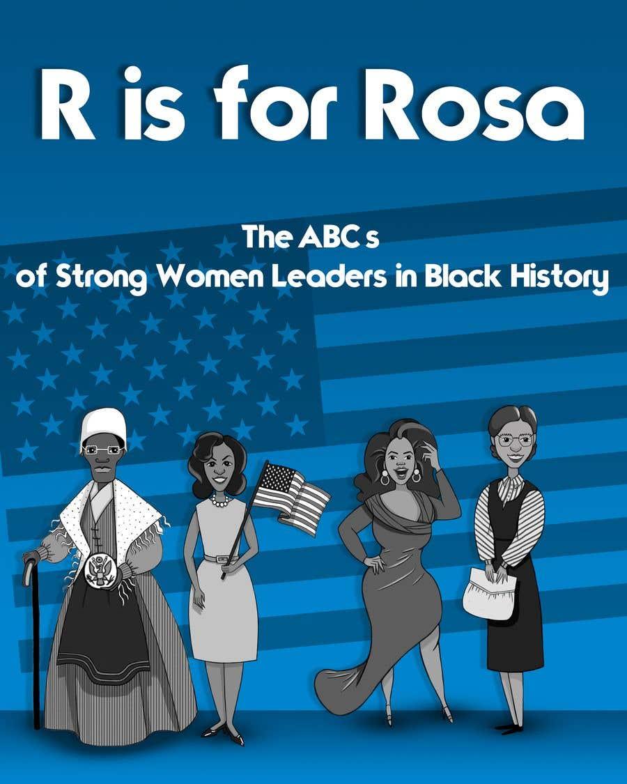 Kilpailutyö #                                        1                                      kilpailussa                                         Book Cover - Strong Women Leaders in Black History