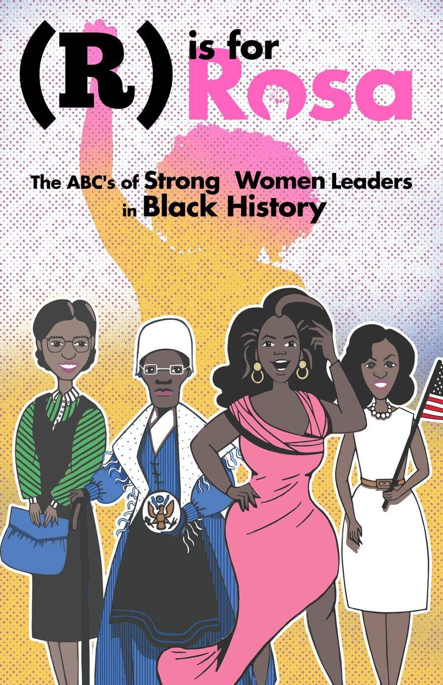 Kilpailutyö #                                        28                                      kilpailussa                                         Book Cover - Strong Women Leaders in Black History