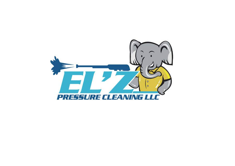 Kilpailutyö #                                        127                                      kilpailussa                                         EL'Z Pressure Cleaning LOGO CONTEST