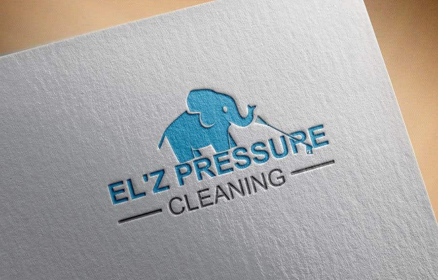 Kilpailutyö #                                        123                                      kilpailussa                                         EL'Z Pressure Cleaning LOGO CONTEST