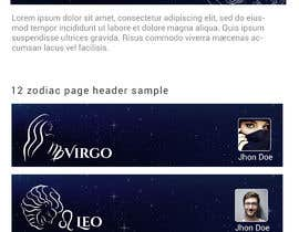 #11 for Header for Astrology website by mawogmanik