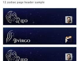 #14 for Header for Astrology website by mawogmanik