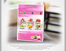 #130 for Menu Bubble tea design af edrilordz